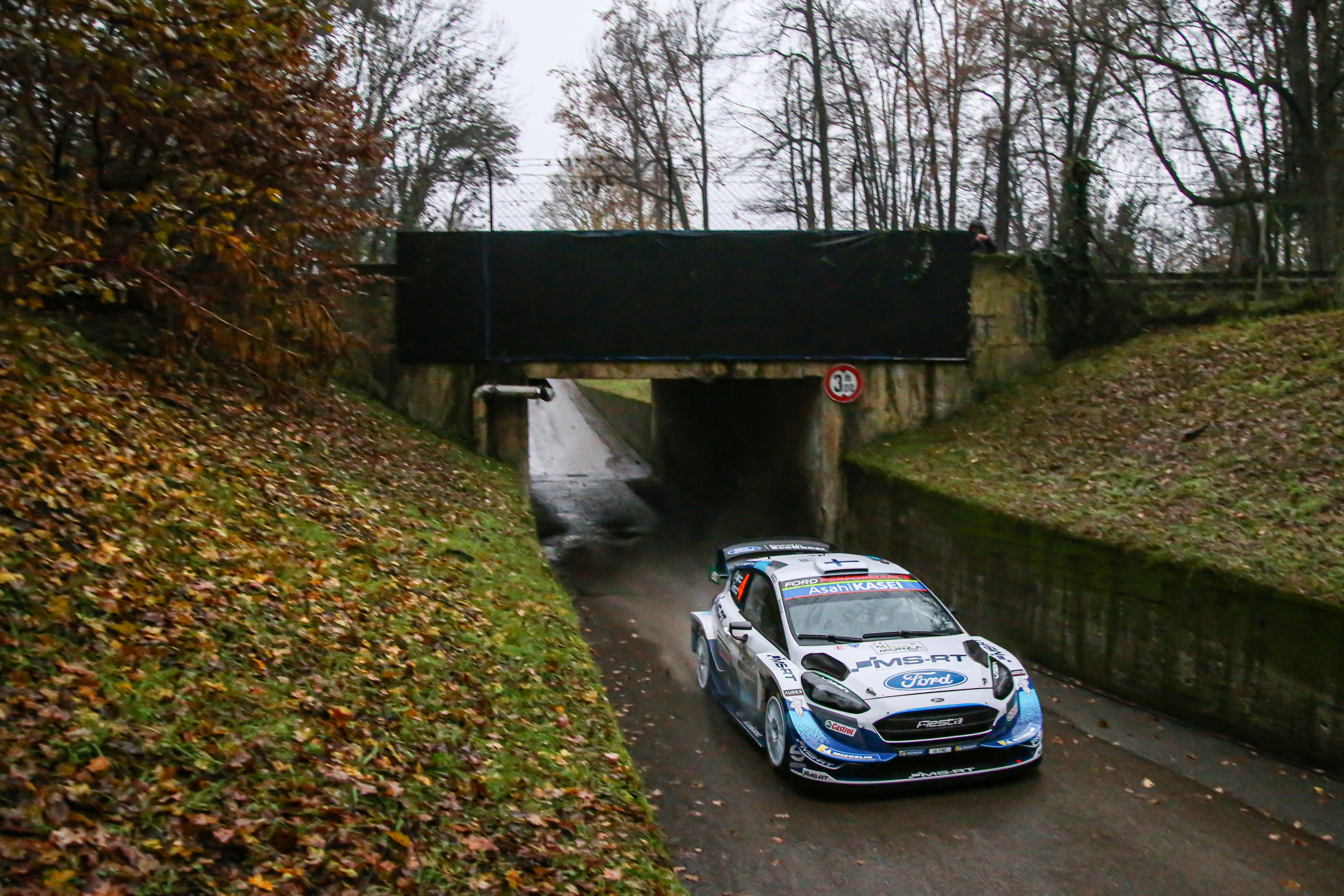 #4 E. Lappi - J. Ferm (Ford Fiesta WRC)